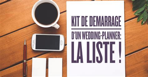 Wedding Planner Kit by Kit De D 233 Marrage D Un Wedding Planner La Liste