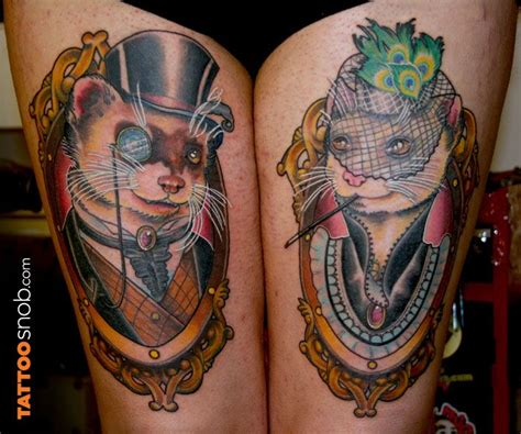 ferret tattoo 675 best ferrets images on ferrets