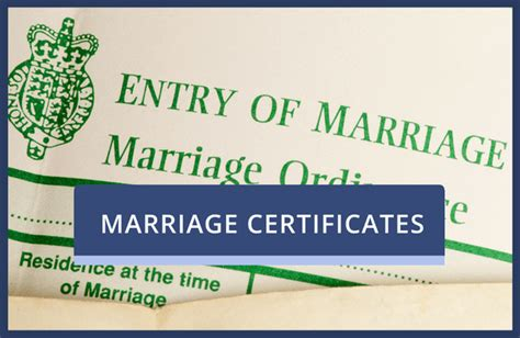 Marriage Records Uk Uk Marriage Certificate Information