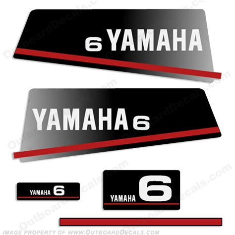Yamaha Outboard Sticker by Yamaha Decals