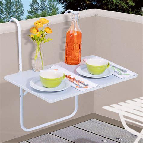 tavolo balcone tavolo balcone tavolino da appendere bianco terrazzo
