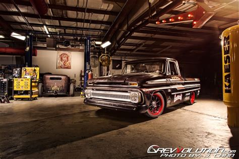Gas Monkey Garage Truck Builds by 2014 Ppihc Pace Truck Gas Monkey Garage S 1965 Chevrolet