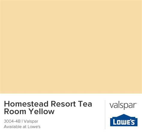 homestead resort tea room yellow from valspar warm and live able yellow easy going enough for