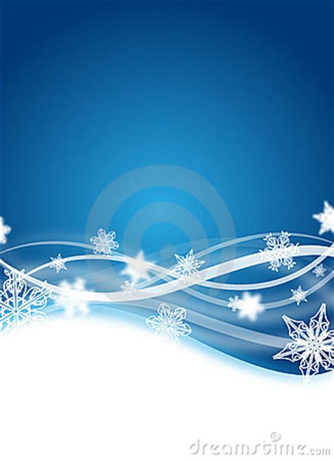 Winter Flyer Royalty Free Stock Images   Image: 10740549