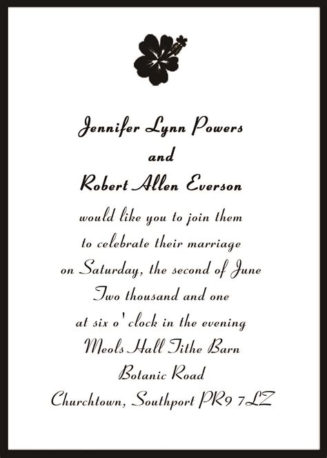 wedding invitation templates uk wedding invitation wording wedding invitation templates