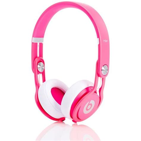Headphone Beats Pink beats headphones neon pink mixr headphones 170 liked on polyvore featuring accessories tech