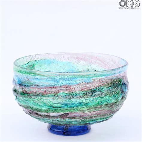 glass bowls for centerpieces sbruffi centerpiece bowl murano glass