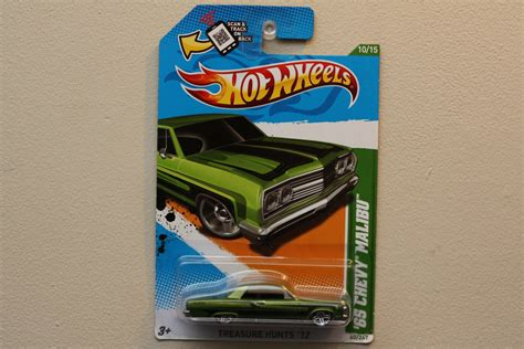 Hotwheels Wheels 65 Chevy Malibu Th Reguler 12 wheels 2012 treasure hunts 65 chevy malibu