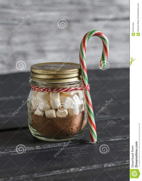 Choco Jar Marshmallow gift ingredients for
