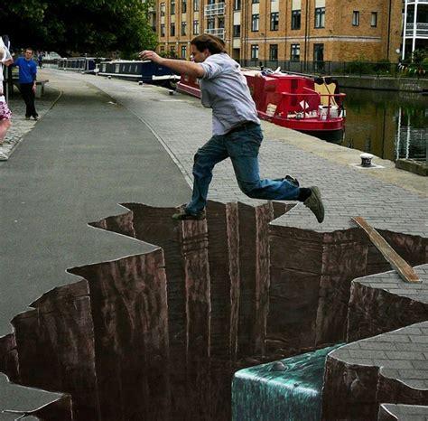 wallpaper graffiti terbagus joe hill art 3d pavement art