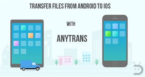 transfer data from android to i phone