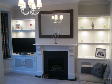 Alcove Living Room Ideas by Made To Measure Bookcases Harrogate