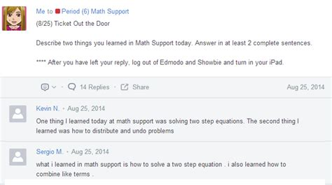 edmodo keeps logging me out rockstar math teacher ipads and self paced lessons in