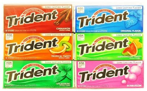 chewing gum brands world tops and bubble gum brands on pinterest
