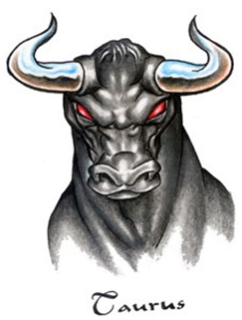 red eyes taurus tattoo design