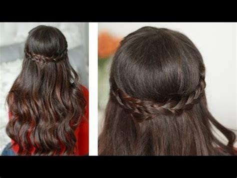 hairstylevido in valentine s day half up braided hairstyle luxyhair video