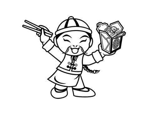 free coloring pages of noodles