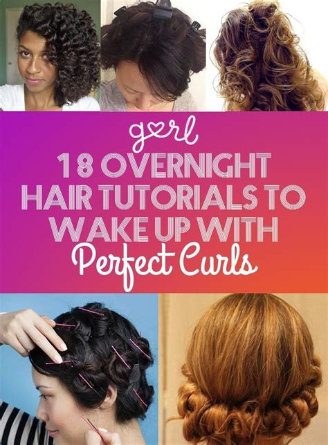 what kind of curler will put curls in african american hair 18 overnight hair tutorials that will let you wake up with