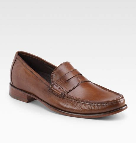 cole haan aiden loafer cole haan air aiden loafers in brown for