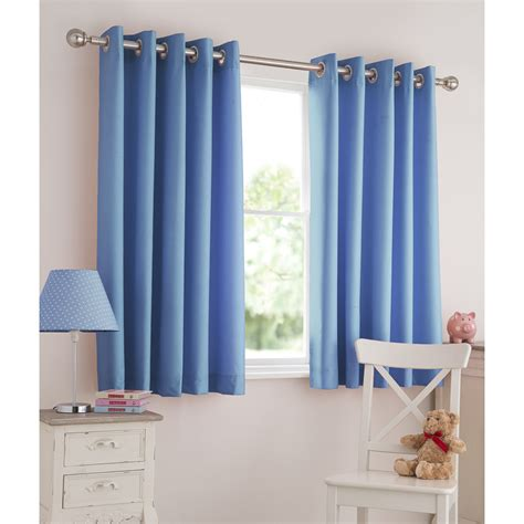 Baby Blue Eyelet Curtains light reducing eyelet curtain 66 x 54 quot curtains blinds