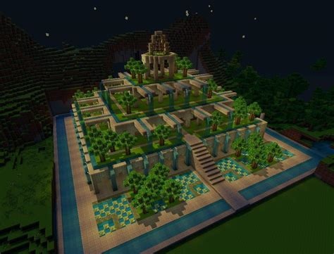 riot and craft garden city pretty gardens minecraft project