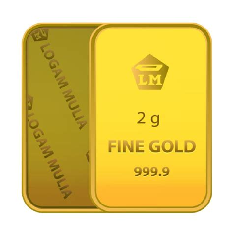 jual antam logam mulia emas 2 gram harga