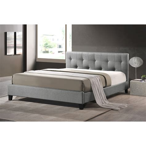 Upholstered Platform Bed House Of Hton Blanchett Upholstered Platform Bed Reviews Wayfair