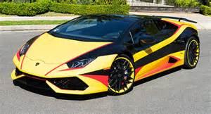 Lamborghini Customized Tropical Lambo Huracan Boasts One Wrap Custom