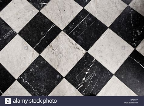 Black And White Bathroom Flooring by Black And White Marble Tiles Bathroom Flooring Stock