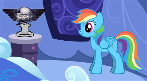 rainbow dash room rainbow dash s watg trophy in room by favoriteartman on deviantart