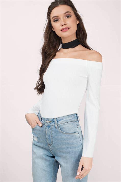 Top Blouse white blouse white blouse sleeve blouse opts
