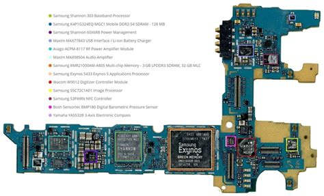 Ic Power Intel Baseband Pmb5747 Samsung Alpha G850f galaxy note 4拆解图文 跑跑车iphone手机网www paopaoche net