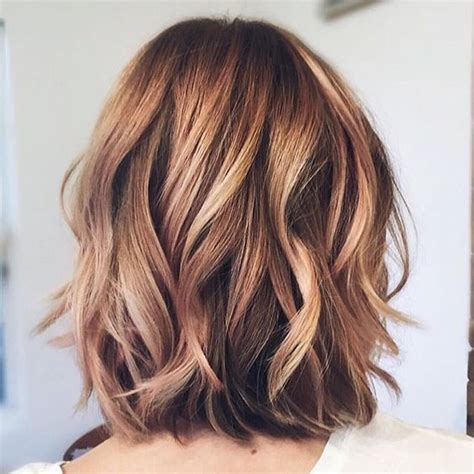 twisted balayage 30 chic everyday hairstyles for shoulder length hair