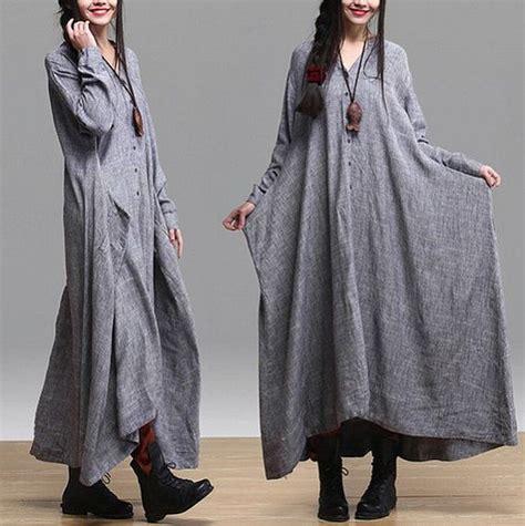Sale Sweater Collar Colar Kerah gray color fitting linen sleeve t shirt blouse