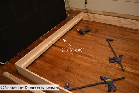 Diy Wooden Bed Frame 1000 Images About Biy On Pinterest Diy Platform Bed Bed Frames And Platform Beds