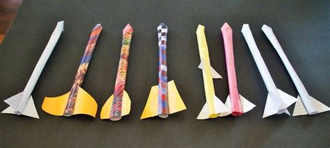 How To Make A Rocket In Paper - paper rocket designs www pixshark images galleries