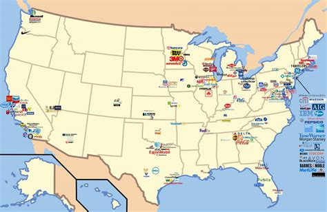 Boeing Locations Map Business Stltoday by 22 Gorgeous Maps That Define The United States Of America
