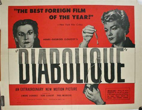 Diabolique 1955 Film Les Diaboliques 1955 Movie