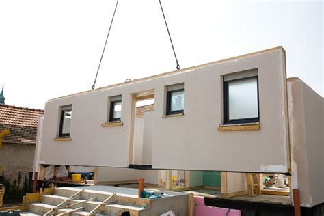 Prefabricated house   Palmatin Wooden Houses