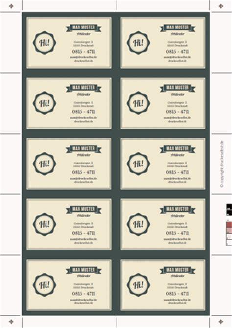 Visitenkarten Hintergrund Vorlagen Kostenlos by Drucke Selbst Vistenkarten Kostenlos Gestalten