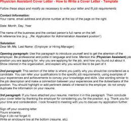physician assistant cover letter exles best photos of physician cover letter templates