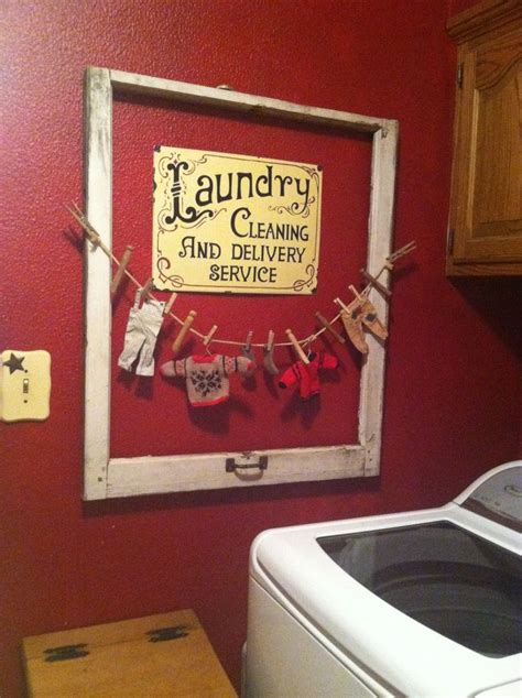 Laundry Room Decor For The Home Pinterest Decor For Laundry Room