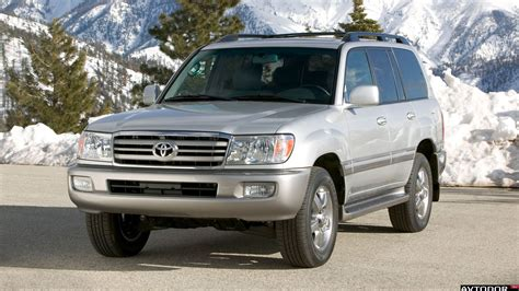 2006 Toyota Land Cruiser 2006 Toyota Land Cruiser 100 Pictures Information And
