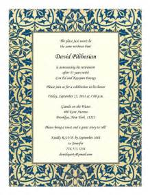 retirement quotes for invitations retirement invitation rpit 21