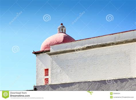 mexican white house mexican white house with red dome stock images image 20985924