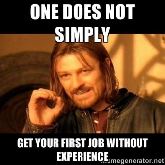 Job Search Meme - job hunting with no experience in memes careers24