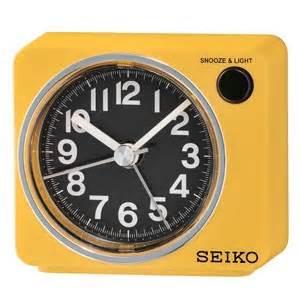 alarm seiko clocks