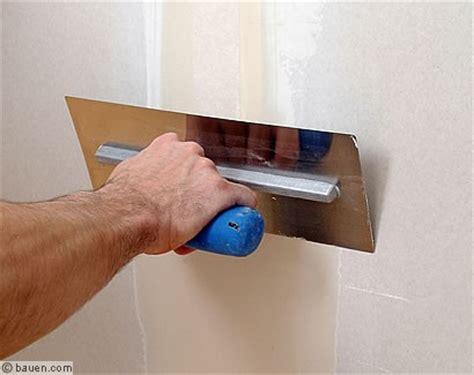 Was Kostet Eine Rigipsplatte 5869 by Sauber Spachteln Bauen