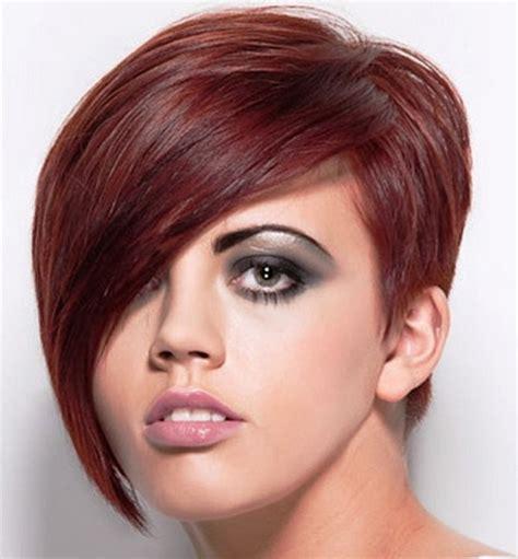 recent tv ads featuring asymmetrical female hairstyles asymmetrical pixie haircut