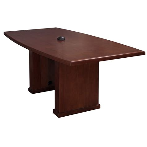 National Conference Table Wood Veneer 36 215 72 Used Boat Shape Conference Table Mahogany National Office Interiors And